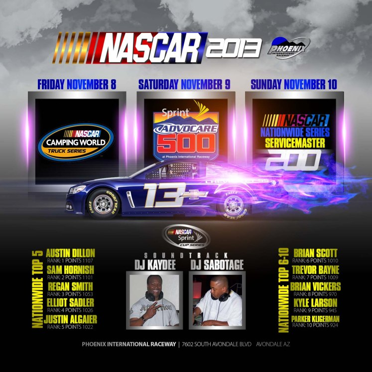NASCAR FLYER KAYDEE