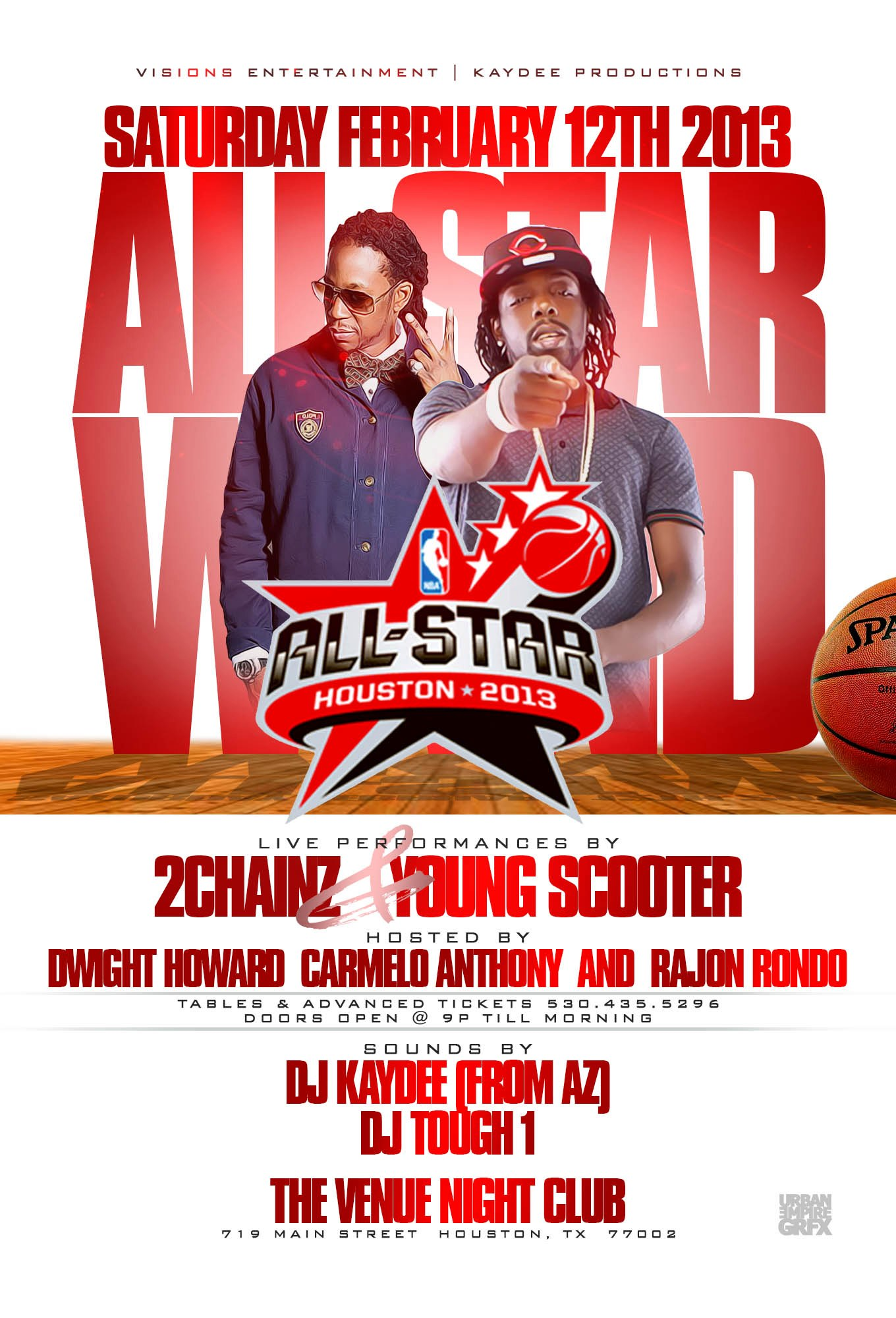 All Star 2013 Flyer