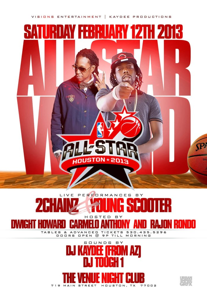 All Star 2013 Flyer